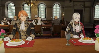 Sharing Meal, Fire Emblem, Three Houses, FETH