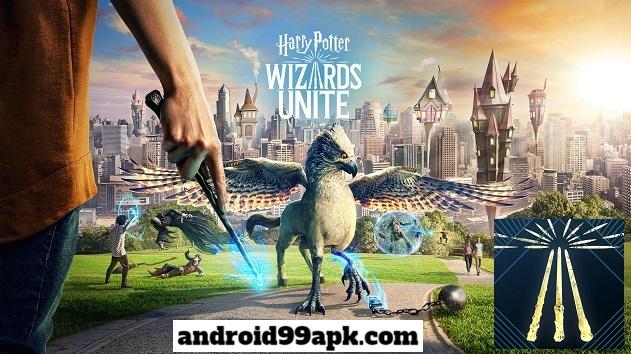 لعبة هاري بوتر Harry Potter: Wizards Unite v2.5.0 كاملة للأندرويد