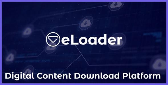 Download eLoader v1.0 - Digital Content Download Platform - nulled