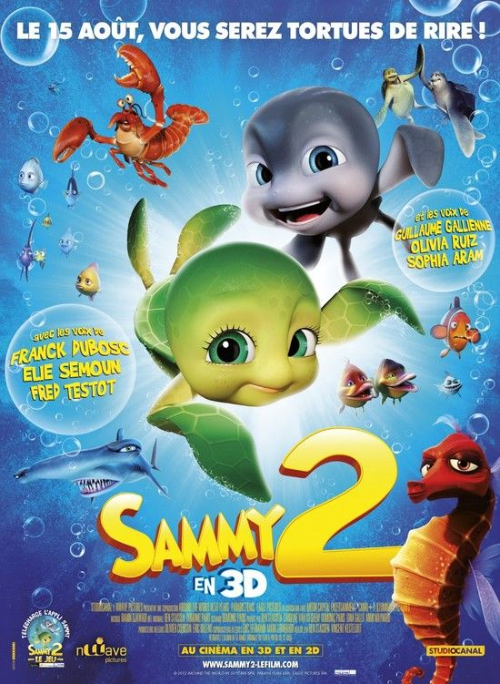A Turtle's Tale 2: Sammy's Escape from Paradise (2012) 1080p