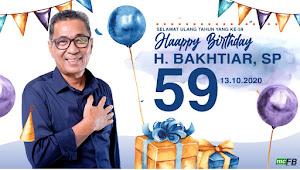 Muk H Bahtiar SP, Calon Wakil Bupati Batanghari Berulang Tahun. Ini harapannya