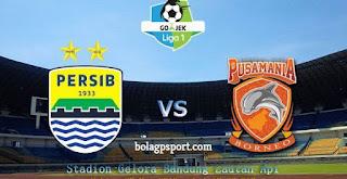 Prediksi Persib Bandung vs Borneo FC - Liga 1 Sabtu 21 April 2018