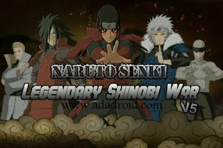 Download Naruto Senki Mod Legendary Shinobi War V5 Apk