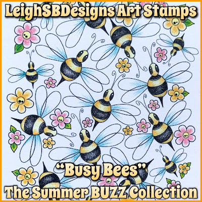 Busy Bees Set - The Summer BUZZ Collection