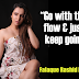 """Go with the flow & just keep going""- Falaque Rashid Roy"