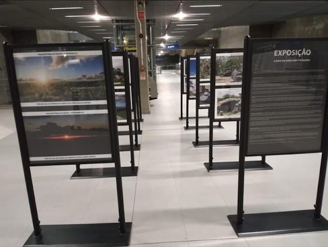 Serra do Pará é destaque em exposição no metrô de São Paulo
