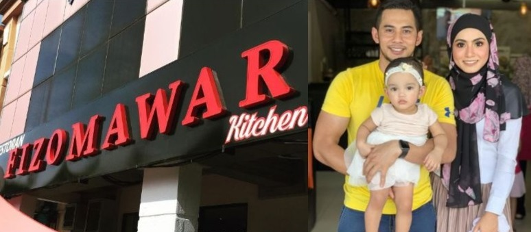 Fizo Mawar Kitchen, tutup, Mawar Karim, Fizo Omar