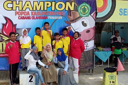 Atlet Panahan dari SDIT Umar Bin Khathab Unjuk Prestasi di Ajang POPDA