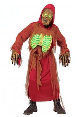 halloween heren kostuum zombie skelet