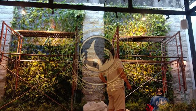 Tukang taman vertical bali