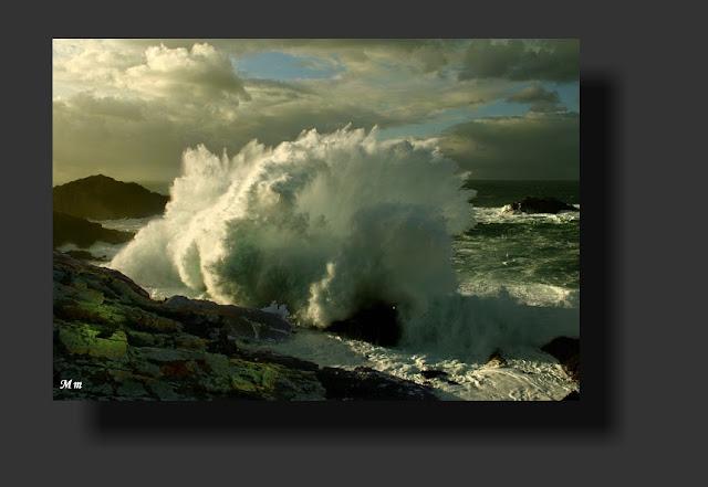 fotos de temporales, de olas, de rompeolas, fotos de galicia, munimara
