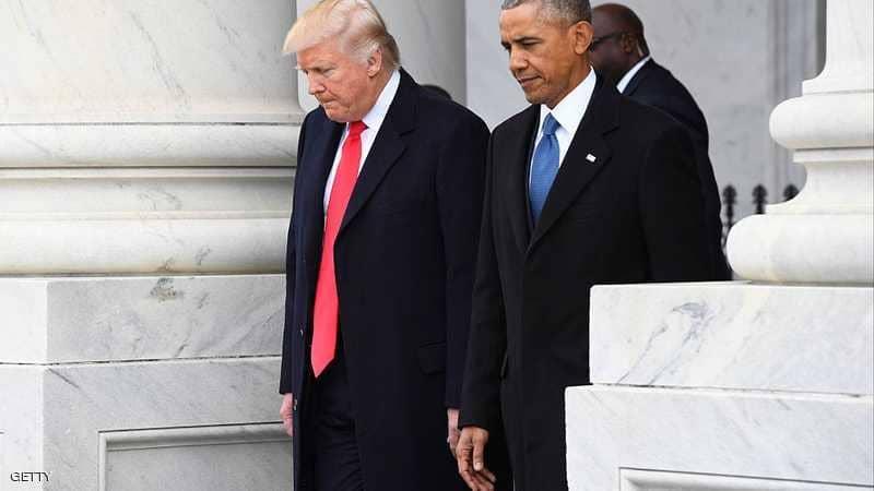 """""""خطر"""" يكشف حادثة يوم تنصيب ترامب.. وما دار مع أوباما"""