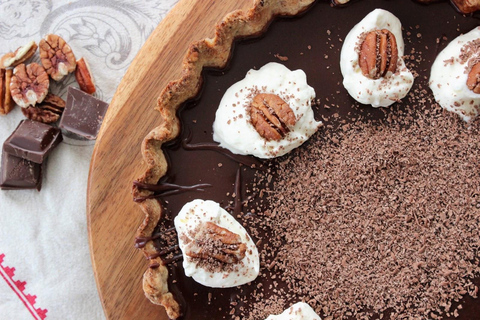 Dark Chocolate Tart Recipe Nz