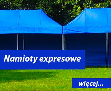 Namioty expresowe dmuchańce Wrocław
