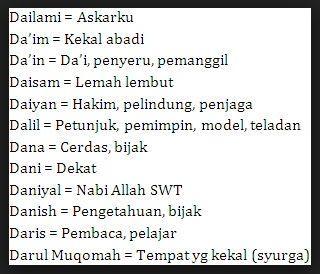 Nama Anak Laki Laki Menurut Islam