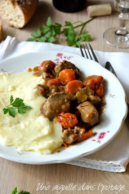 porc-bière-carotte-cèleri-plat mijoté