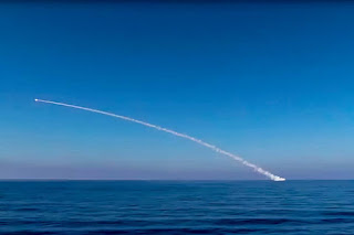 Krasnodar menembakan rudal jelajah Kalibr