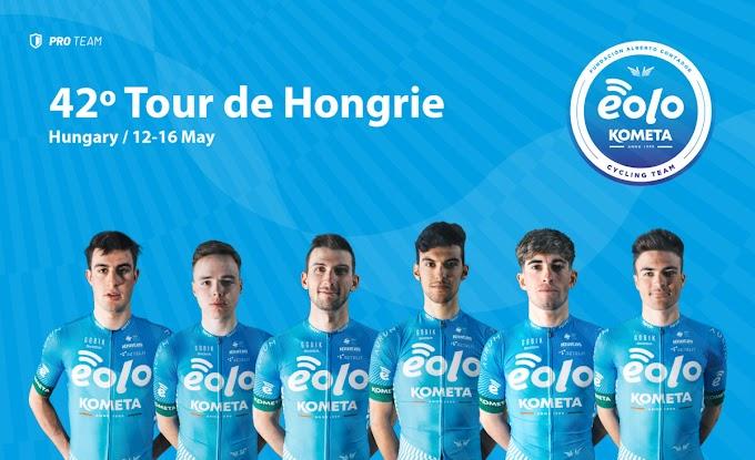 El Eolo - Kometa participará desde mañana en el Tour de Hungría