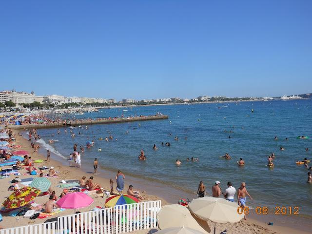 Praia de Cannes - Nice - França