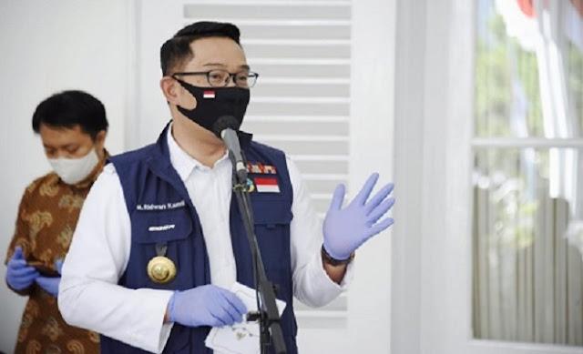 Disuntik Vaksin Covid-19, Kang Emil Mengaku Sempat Sedikit Ba'al