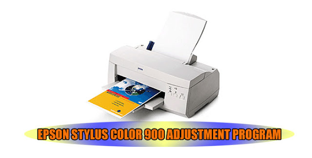 Epson Stylus Color 900 Printer Adjustment Program