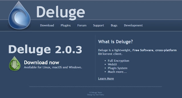 free Torrent Clients Deluge
