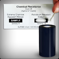 Chemical Resistant barcode Ribbons