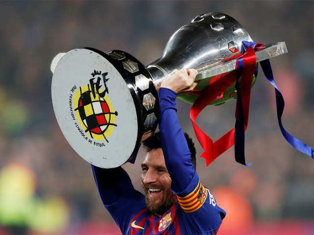 Messi Sets Record As He Wins 10th La Liga Title With Barcelona