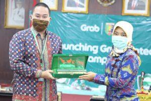 Launching Grab Protect, Pemprov Lampung Gandeng Grab Dalam Menghadapi New Normal
