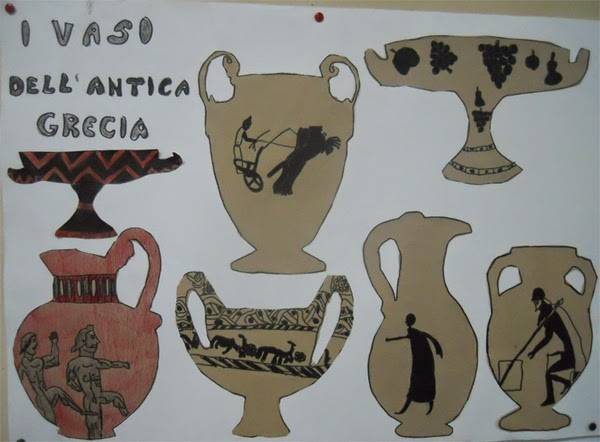 Lozainetto l 39 arte presso gli antichi greci i vasi for Vasi antica grecia