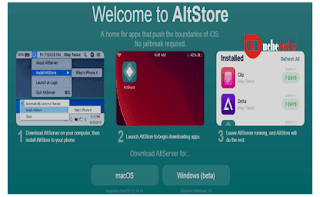 Download AltStore and Install