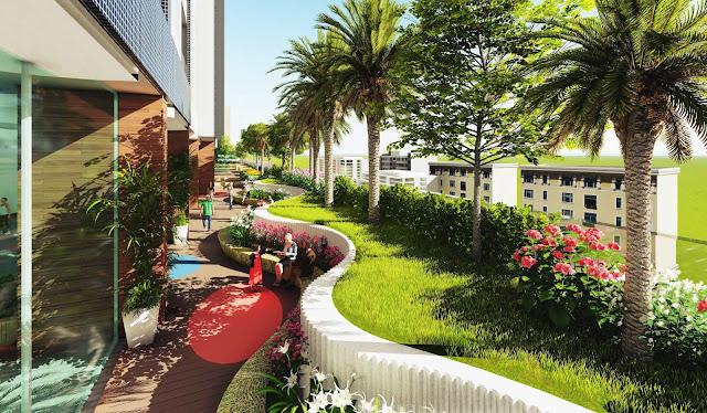 Cây xanh tại Riverside Garden