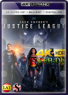 La Liga de la Justicia de Zack Snyder (2021) WEB-DL 4K UHD HDR LATINO/INGLES