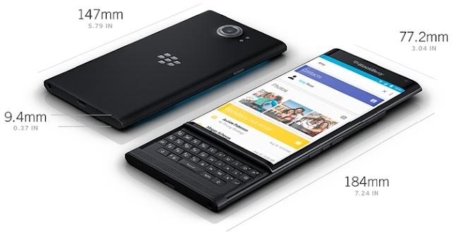 افضل هاتف  الذكية  BlackBerry Priv