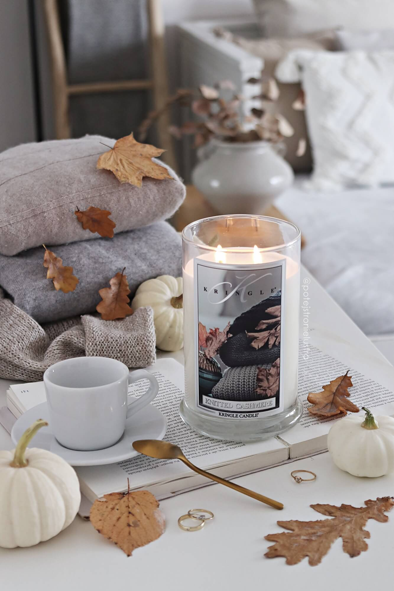 kringle candle knitted cashmere