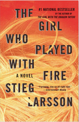 The Girl Who Played with Fire by Stieg Larsson (Book cover)
