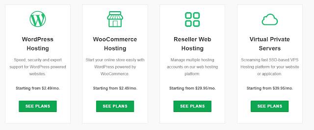 pricing option for greengeeks