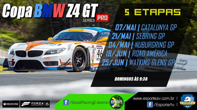 Campeonato BMW z4 GT para Forza Motorsport