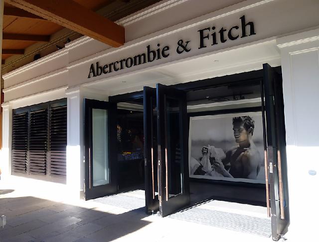 Lojas Abercrombie e Hollister em Miami e Orlando