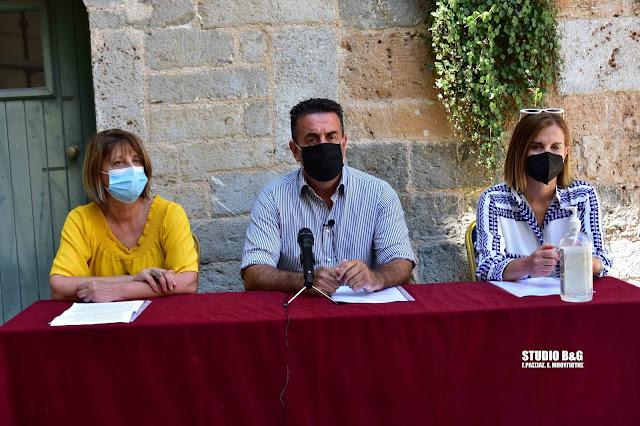 Παρουσίαση του προγράμματος των Θερινών δράσεων και εκδηλώσεων του Δήμου Ναυπλιέων (βίντεο)