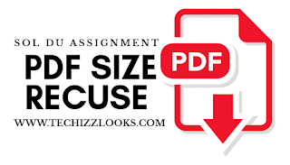 Sol assignment pdf size reduce