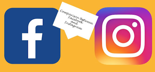 Comparison between Facebook and Instagram
