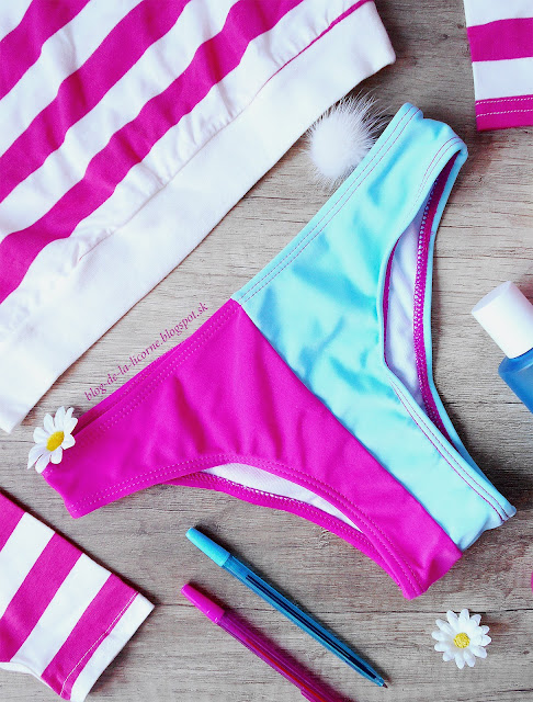 Chic Stretchy Color Block Briefs For Women