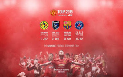 USA Man United Tour 2015