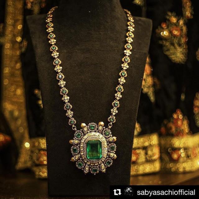 Fancy Diamond Long Chain by Sabyasachi