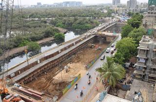 Metro station Mumbai