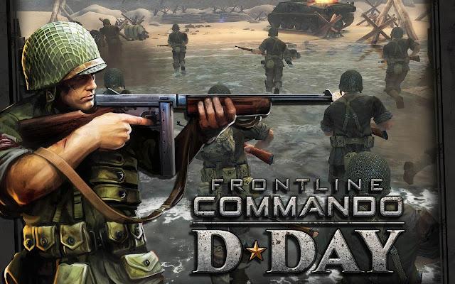 تحميل لعبة Frontline Commando D day للاندرويد بالمجان