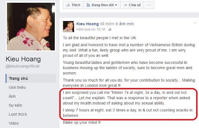 Tưởng Hoàng Kiều nói chuyện 'nhạy cảm' nhưng dân mạng đã nhầm? - 2