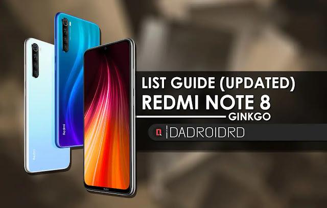 Kumpulan Tutorial Tips Trick Redmi Note 8, Full List Guide Redmi Note 8, Tutorial Redmi Note 8, Panduan Redmi Note 8, Fastboot Redmi Note 8, Kumpulan Cara untuk Redmi Note 8, List Guide Ginkgo, Fastboot Ginkgo, USB Driver Redmi Note 8