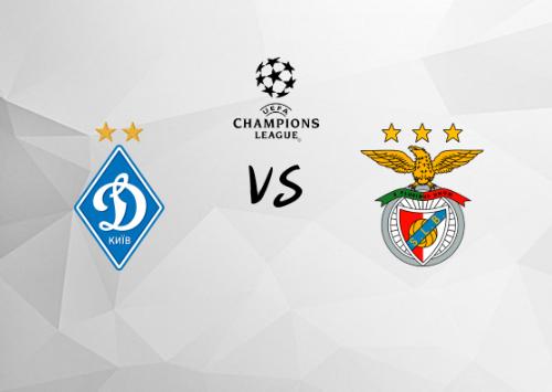 Dinamo Kiev vs Benfica  Resumen